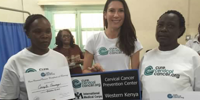 """The Cervical Cancer Prevention Clinic"" in Nyamira County"