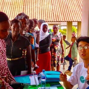 Training Commences on the Island of Ukerewe