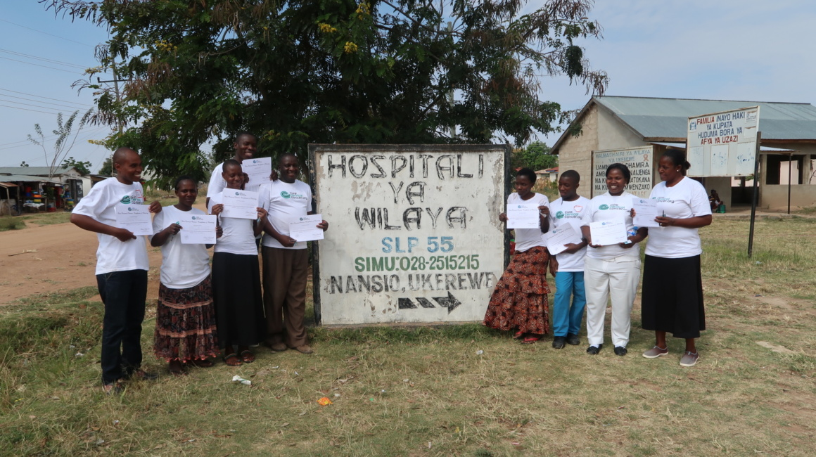 """The CureCervicalCancer Board Clinic"" in Nansio, Tanzania"