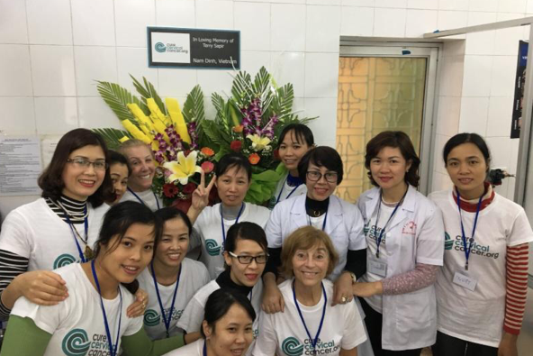 """The Terry Sapir Clinic"" in Nam Dinh"