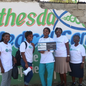 Thermocoagulation Training and Screenings Continue in Haiti