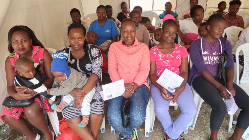"""""""See & Treat"""" at Bahati Health Centre in Nairobi, Kenya off to a Great Start!"""