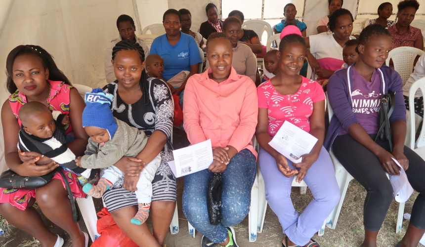"""""""See & Treat"""" at Bahati Health Centre off to a Great Start!"""