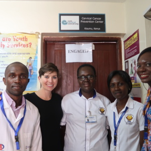 CureCervicalCancer Team Returns to Kisumu, Kenya