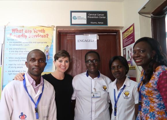 CureCervicalCancer Team Returns to Kisumu, Kenya