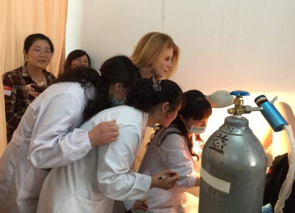 CureCervicalCancer Invited Back to Rural China