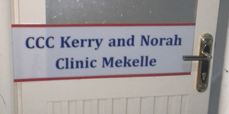 """Kerry and Norah Clark Clinic"" in Mekelle"