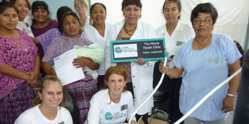"""Morris A. Hazan"" Clinic in Coban"