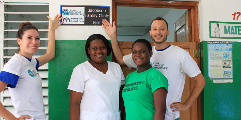 """Jacobson Family"" Clinic in Fort Liberte"