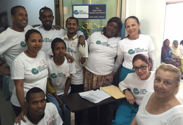 """""""DeeDee and Donna Clinic"""" in Addis Ababa"""