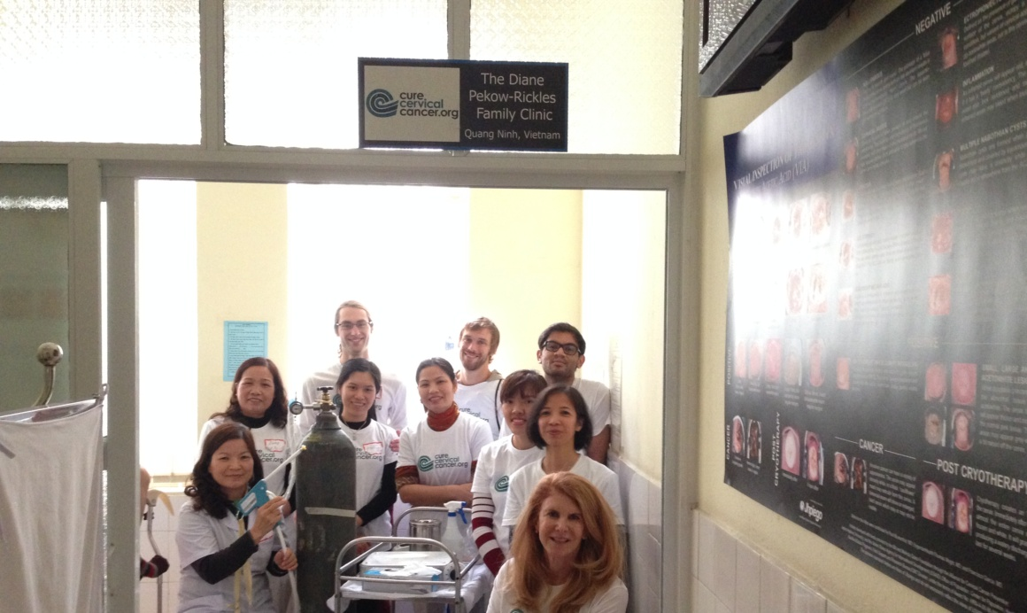 """""""David and Bonnie Rickles Family Clinic"""" in Dong Trieu"""
