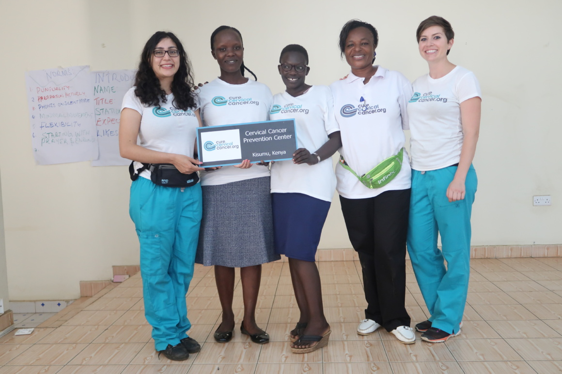 """The CureCervicalCancer Prevention Center"" in Kisumu County"