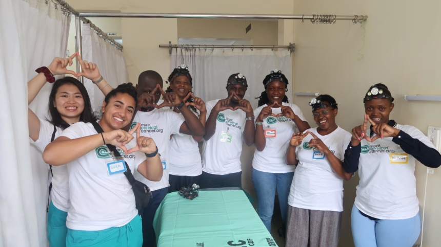 "CureCervicalCancer Concludes its Successful ""See & Treat"" Training Week in Nairobi, Kenya"