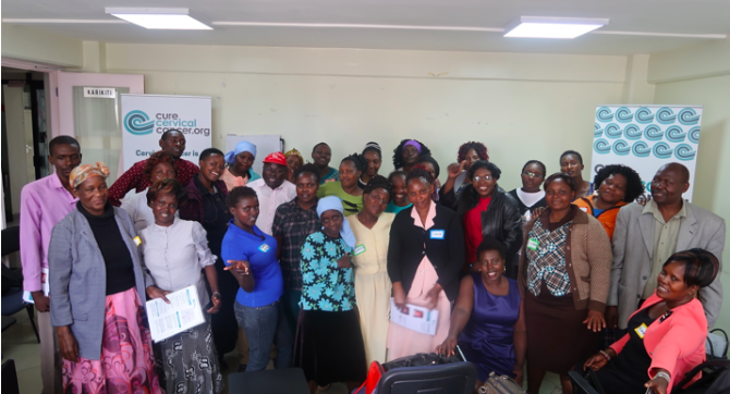 CureCervicalCancer Trains 29 Community Health Workers in Nairobi, Kenya
