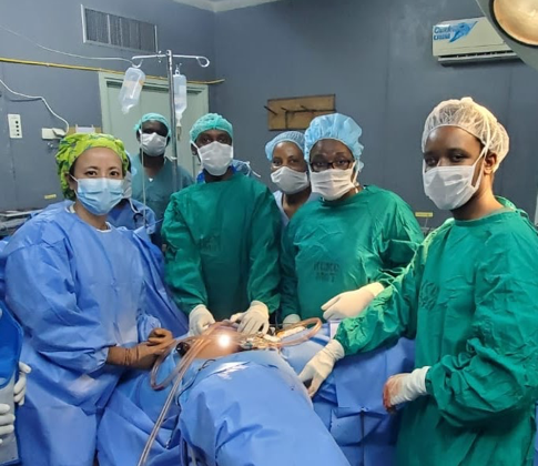 Learn how two doctors from opposite sides of world met and joined forces to bring specialized life-saving surgery to women in Tanzania. It all started with a cervical cancer survivor who wanted to give back.