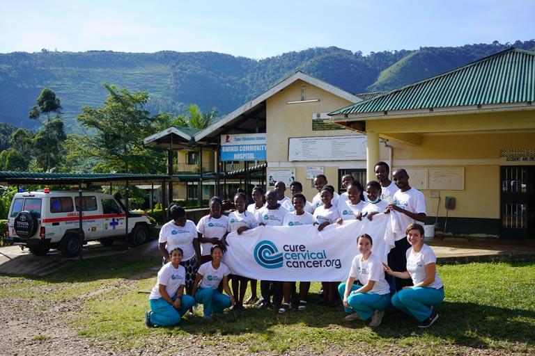 """Cervical Cancer Prevention Center"" in Bwindi, Uganda"