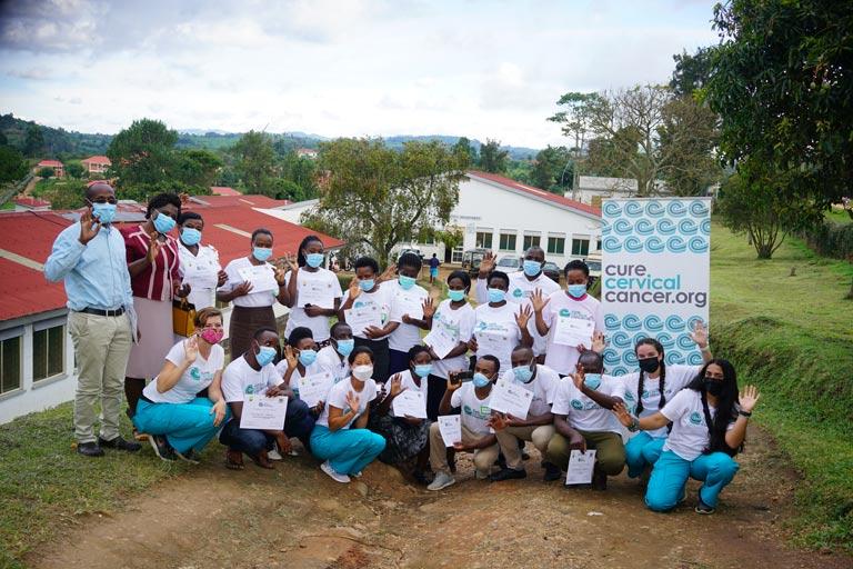 """""""Cervical Cancer Prevention Center"""" at Kambuga Hospital, Uganda"""